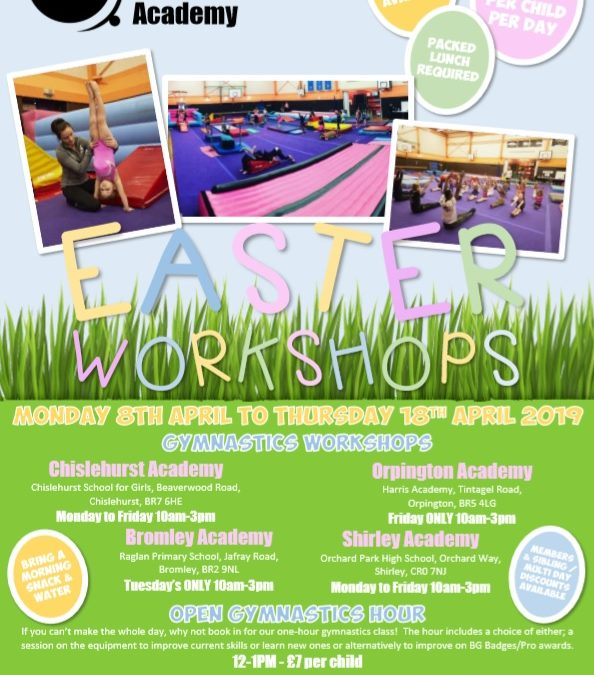 Easter Workshop Holiday Activities