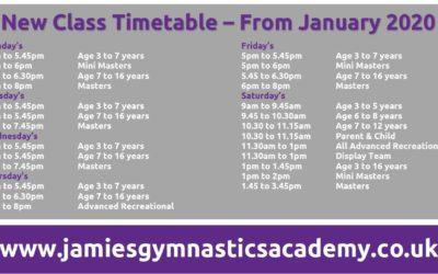 Oasis Timetable
