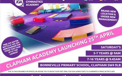NEW!! Clapham Academy