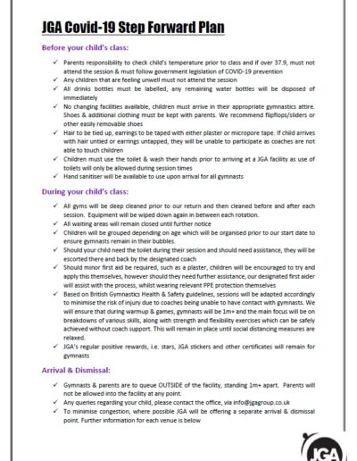 COVID 19 POLICY - PAGE 1