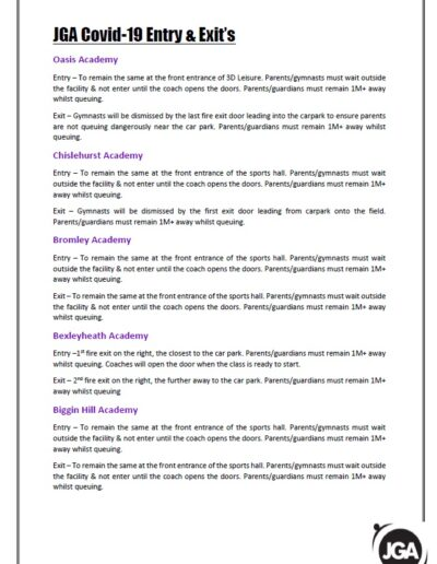 COVID 19 POLICY - PAGE 2