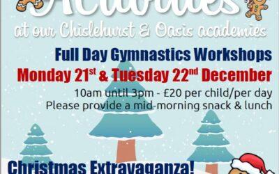 Christmas Activities at JGA!